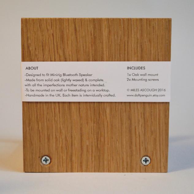 Minirig speaker wall mount