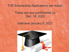 TVE Scholarship Applications