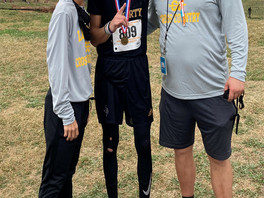 LHS runner Patrick Flowers headed to state