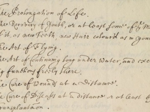 Robert Boyle's Impossible To-Do List