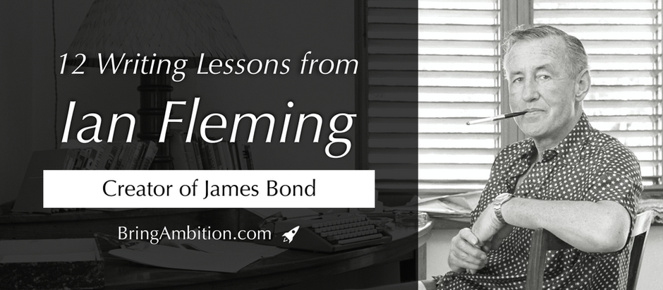 12 Writing Lessons from Ian Fleming, Creator of James Bond