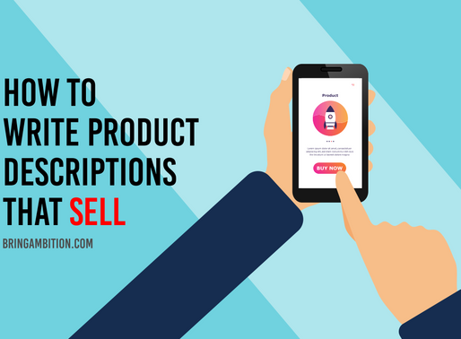 How to Write Product Descriptions that Excite and Close Prospects