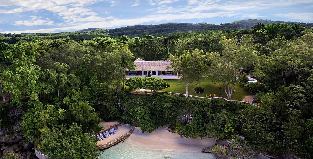 Goldeneye estate in Jamaica