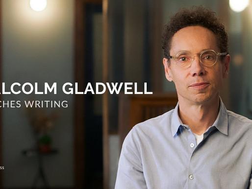 Malcolm Gladwell's Writing Masterclass - Review + 6 Key Takeaways