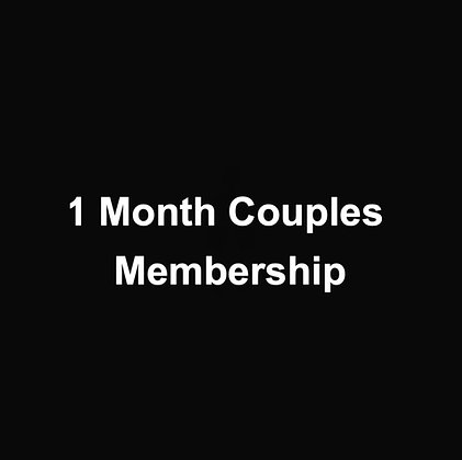 1 Month Couples Membership