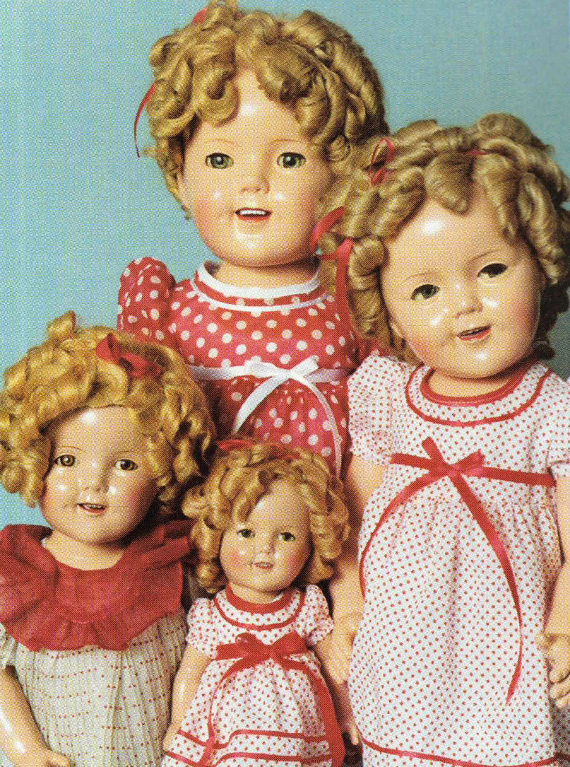 Composition Shirley Temple