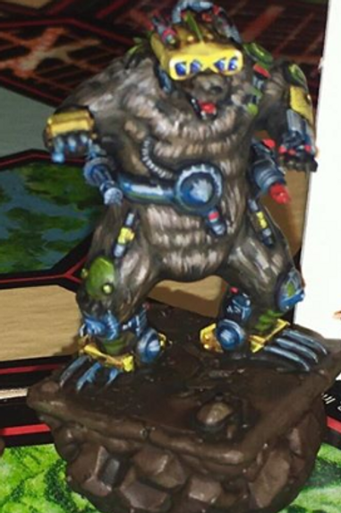 STL Battle Monsters Man Cave Bear