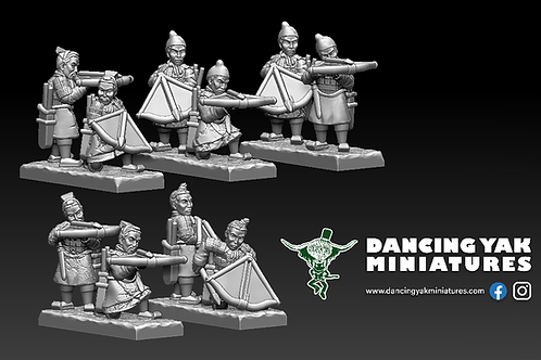STL undead Terracotta crossbow man 10-28mm based & unbased versions
