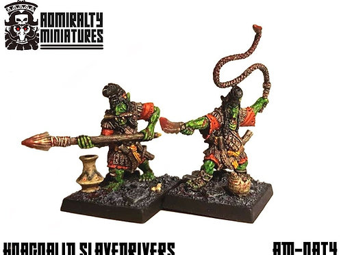 2 Hobgoblin Slave Drivers of Ancient Times 28mm Admiralty Miniatures