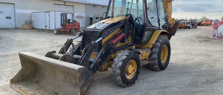 2005 Caterpillar 420D 4X4 Backhoe