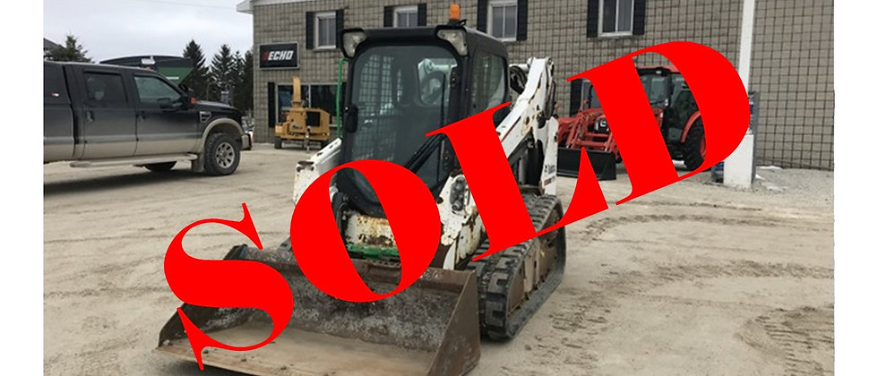 GONE TO AUCTION! 2013 Bobcat T590 Track Skidsteer
