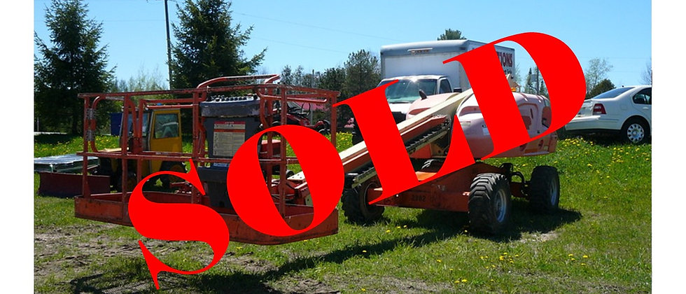 GONE TO 6&6 AUCTIONS: 2005 JLG 400S 4X4 Manlift