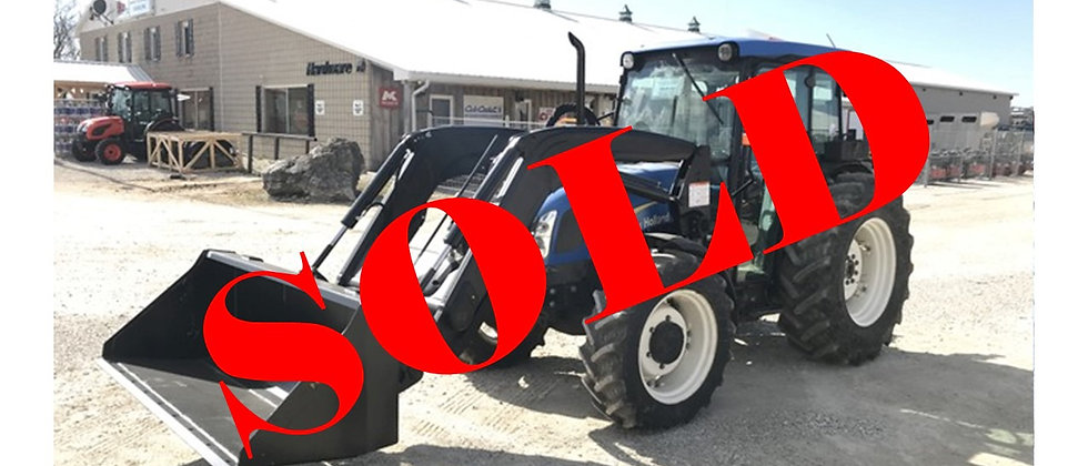 2008 New Holland T4040 4X4 Tractor