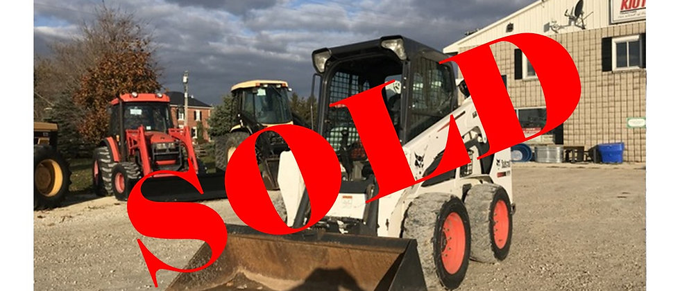 GONE TO AUCTION: 2014 Bobcat S570 Skid Steer
