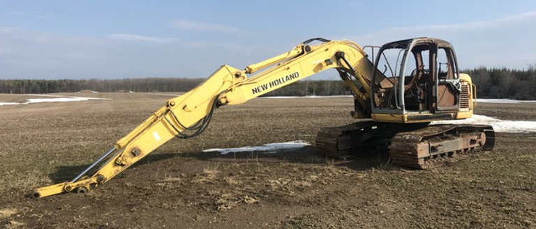 2007 New Holland E130SRLC Excavator