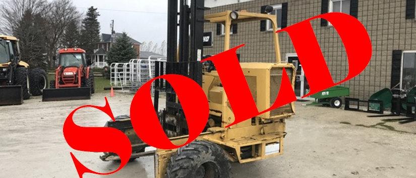 2002 Sellick Piggy Back Truck Mounted Forklift