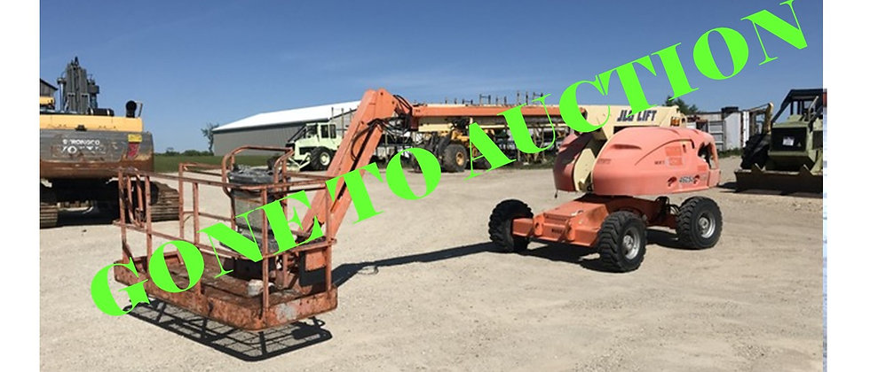 GONE TO AUCTION: 2005 JLG 460SJ 4X4 46 Foot Manlift