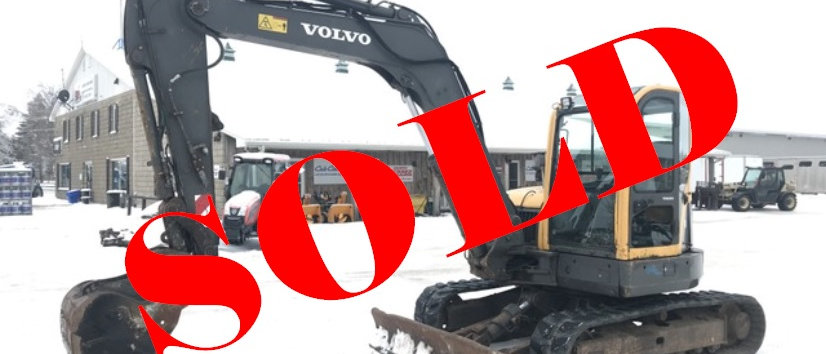2009 Volvo 9 Ton Midi Excavator