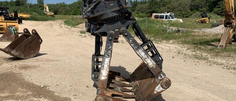 Hydraulic AMI Excavator Rotating Mat Grapple