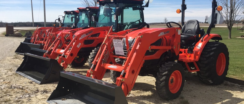 NEW Kioti Tractors