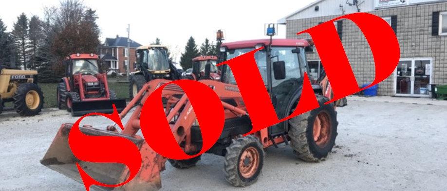 2004 Kubota 45hp 4X4 Loader Tractor