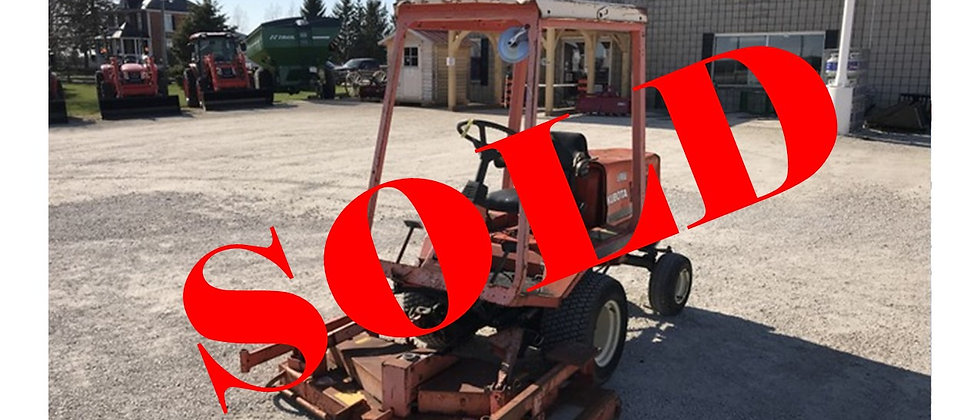 GONE TO AUCTION: Kubota F2100 Front Mount Lawn Mower