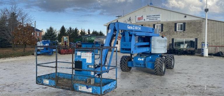 2005 Genie Z60/34 4X4 60 Foot Manlift Boom Lift