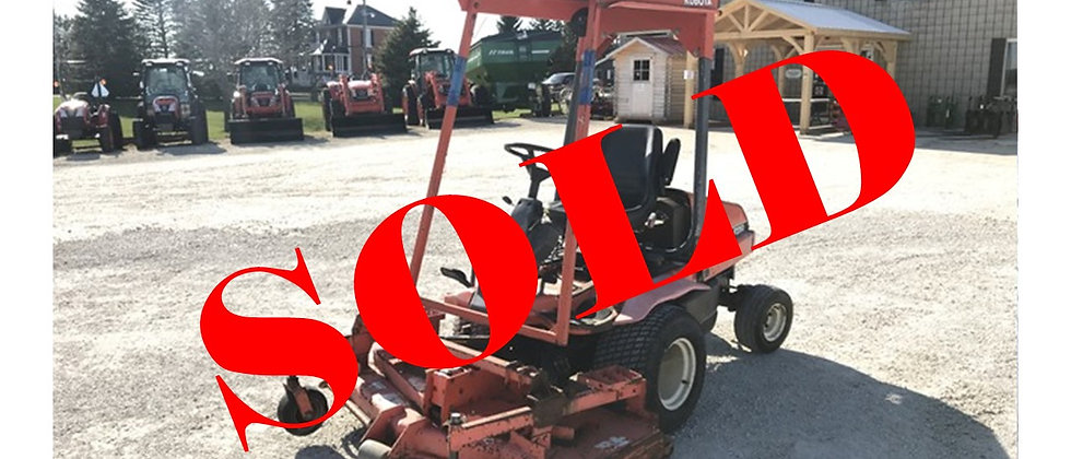 GONE TO AUCTION: 2000 Kubota F2260 4X4 Front Mount Rotary Lawn Mower