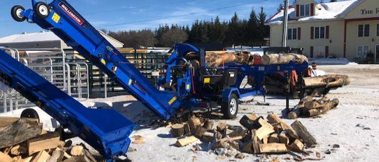 2021 Wallenstein Wood Processors, Splitters, Chippers.