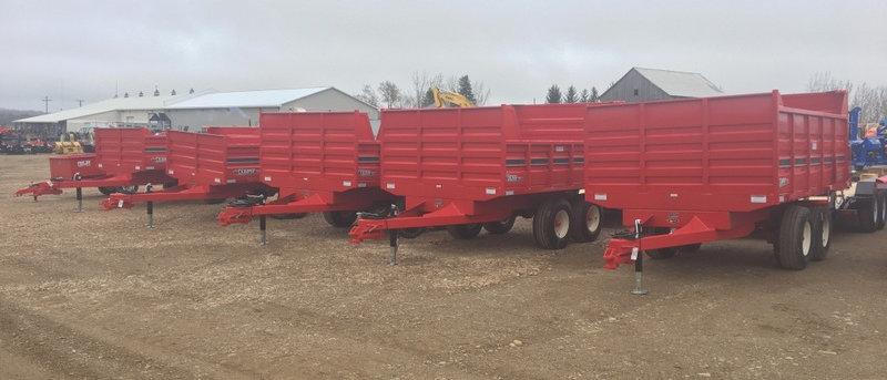 2021 JBM Dirt Stone Manure Grain Dump Trailers