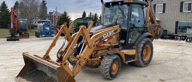 2011 CASE 580 Super N 4X4 Backhoe