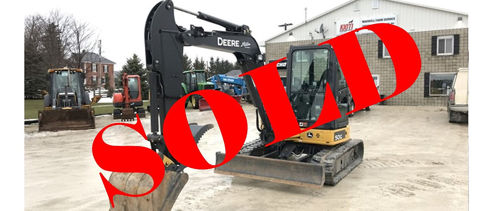 2019 John Deere 5 Ton Mini Excavator
