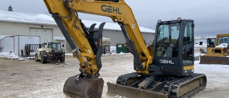 2014 Gehl Z80 Midi Excavator 9 Ton Machine
