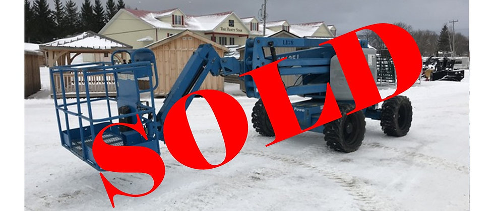 GONE TO AUCTION! 2012 Genie 45 Foot 2WD Manlift