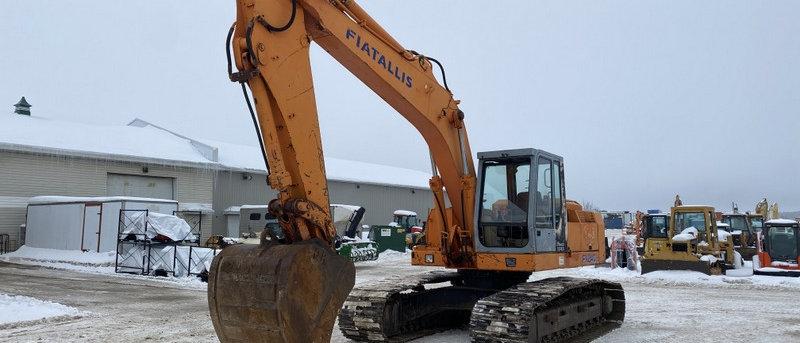 Fiat Allis FX240 Excavator