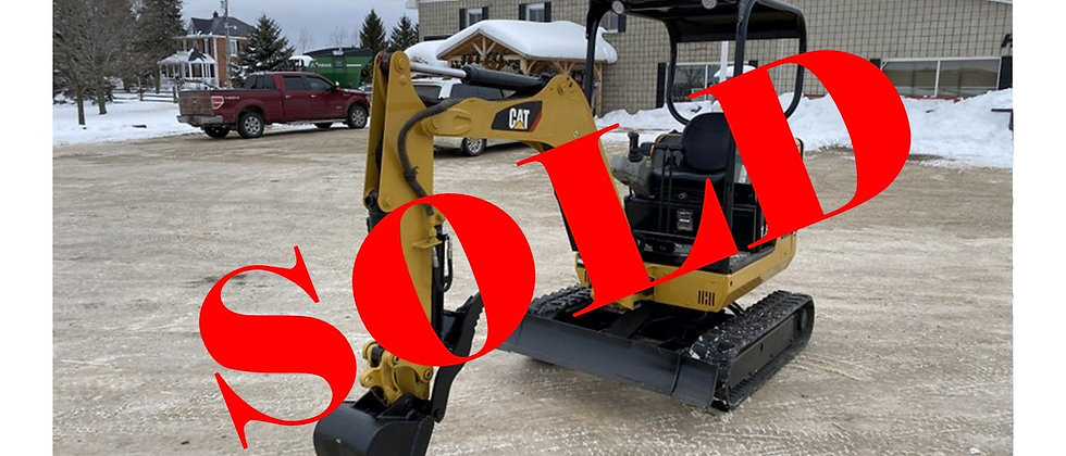 2012 Caterpillar 301.8C Mini Excavator