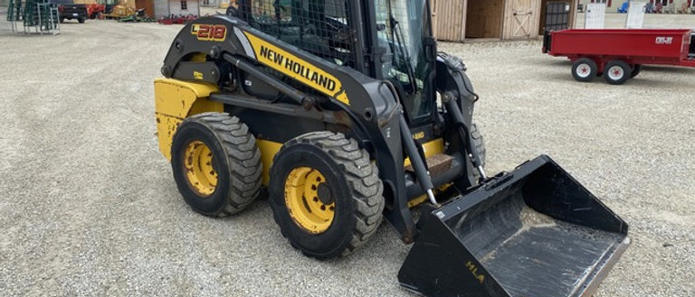 2014 New Holland L218 Skidsteer