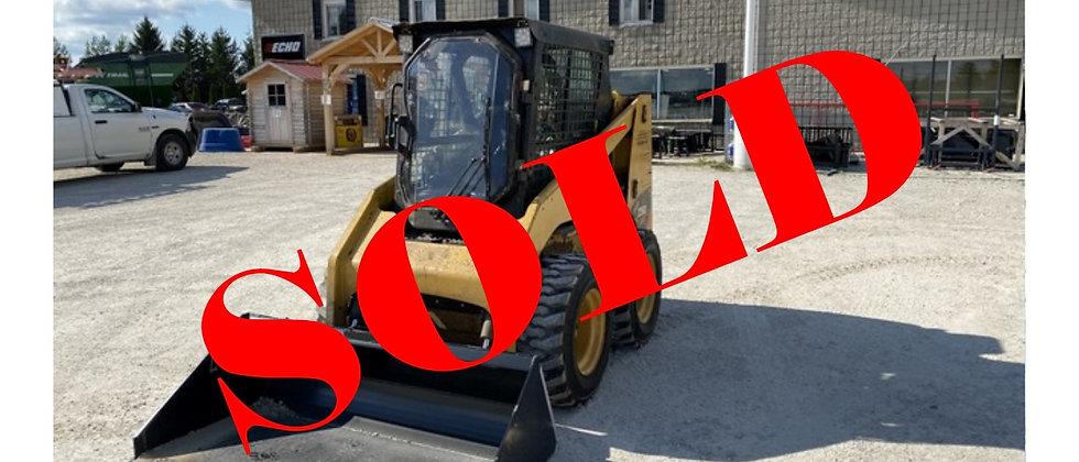 Gone To 6&6 Auction Nov 9-13 2015 Caterpillar 226B3 Skidsteer