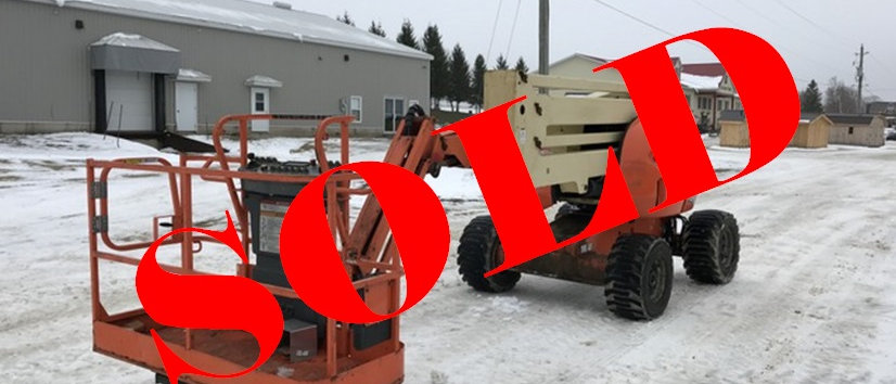 2007 JLG 45 Foot 4X4 Man Lift