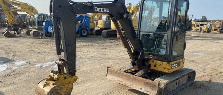 2016 John Deere 26G 3 Ton Mini Excavator