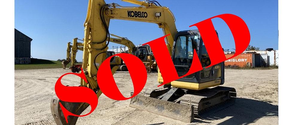 2010 Kobelco SK70SR-2 Excavator 8.5 Ton