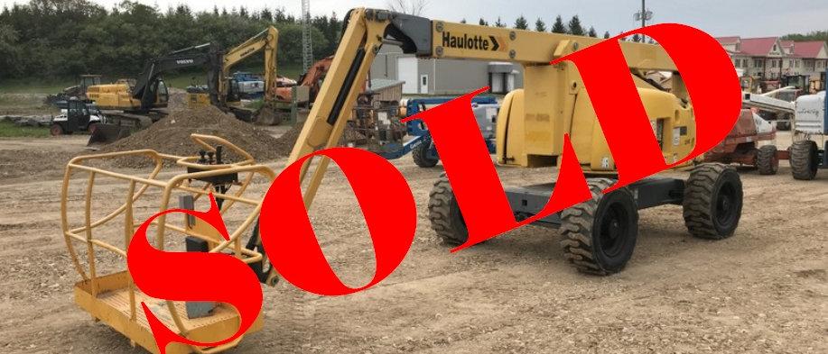 2009 Haulotte 61 Foot 4x4 Diesel Boom Lift