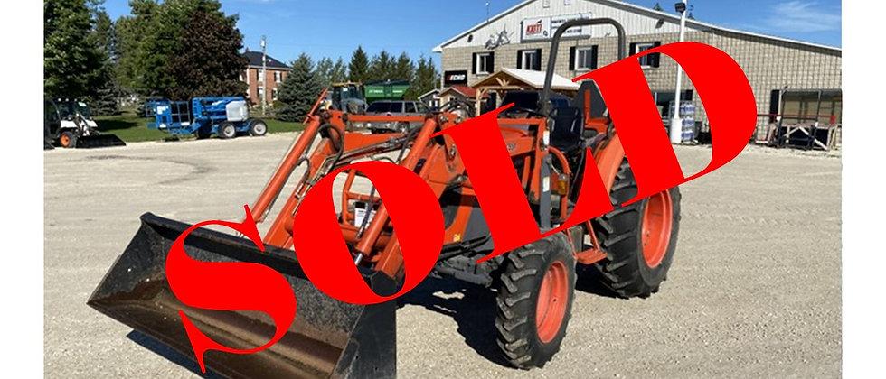 2006 Kioti DK55S 4X4 Loader Tractor
