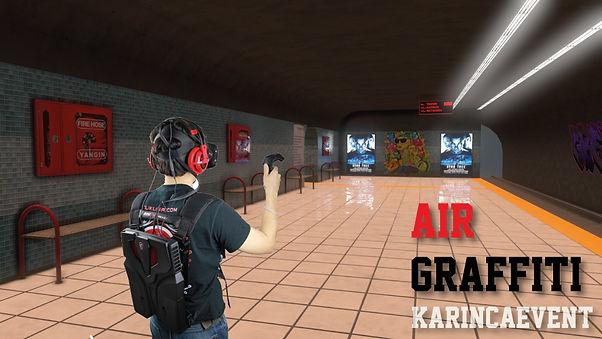 Sanal Gerçeklik Graffitti - Virtual Reality