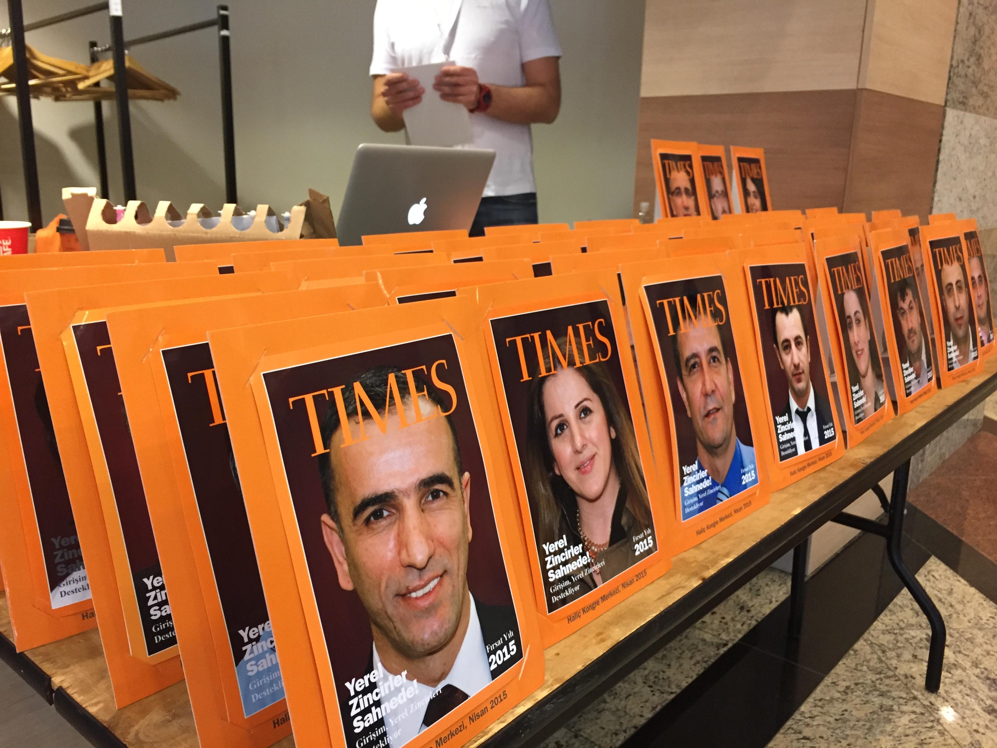 Dergi Kapağı Aktivitesi