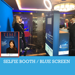 Selfie Booth - Green or Blue Screen