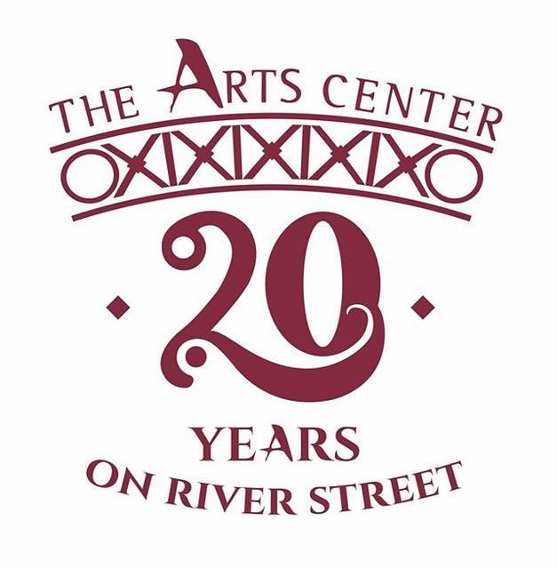 The Arts Center 20 yr anniversay logo