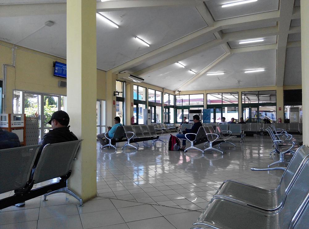 搭乗時刻までの待合室