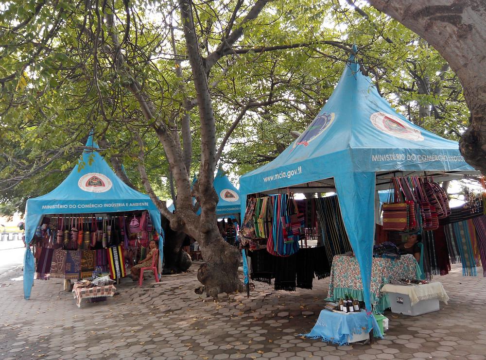 東ティモール 旅行 週末工芸品市場