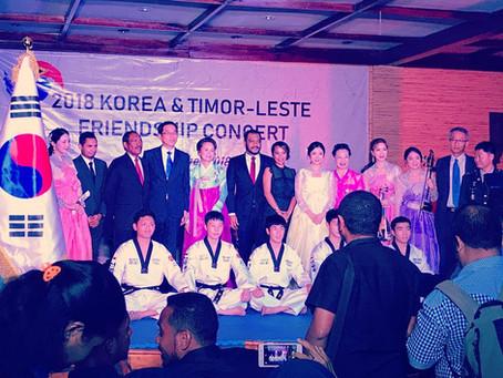 大韓民国と東ティモールの友好コンサート2018